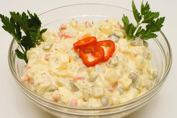 2113 Kartoffelsalat Mit Creme Fraiche (mind. 1000g)