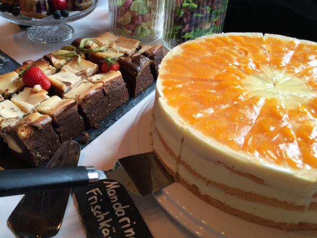 6001 Mandarine-Frischkäse Torte